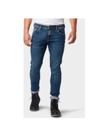 Tom Tailor Denim Culver Skinny Jeans, Heren, Used Mid Stone Blue Denim, 33/32 afbeelding
