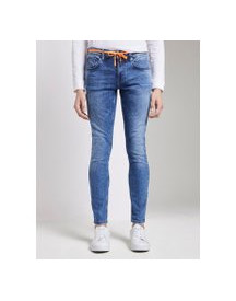 Tom Tailor Denim Culver Super Skinny Performance Stretch Effect, Heren, Random Bleached  Blue Denim, 32/36 afbeelding