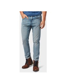 Tom Tailor Denim Jeans Conroy Tapered , Heren, Light Stone Blue Denim, 32 afbeelding