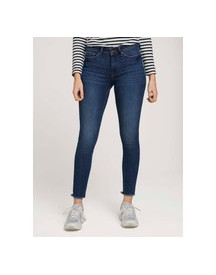 Tom Tailor Denim Jona Extra Skinny Jeans, Used Mid Stone Blue Denim, 28 afbeelding