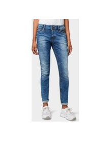 Tom Tailor Denim Lynn Antifit Jeans, Dames, Mid Stone Wash Denim, 25/32 afbeelding