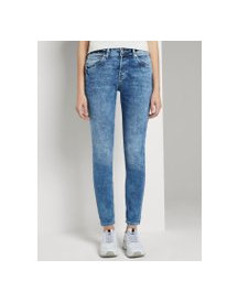 Tom Tailor Denim Lynn Jeans, Dames, Used Light Stone Blue Denim, 25/32 afbeelding