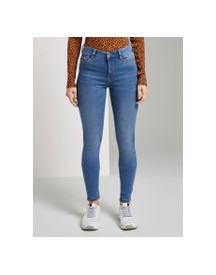 Tom Tailor Denim Nela Exra Skinny Shaping Jeggings, Dames, Used Mid Stone Blue Denim, 26/32 afbeelding