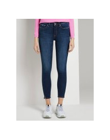 Tom Tailor Denim Nela Extra Skinny Push Up Effect, Dames, Dark Stone Wash Denim, 29 afbeelding