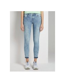 Tom Tailor Denim Nela Extra Skinny Push Up Effect, Dames, Random Bleached  Blue Denim, 28 afbeelding