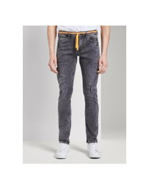 Tom Tailor Denim Piers Slim Jeans, Heren, Grey Denim, 36/32 afbeelding