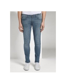 Tom Tailor Denim Skinny Jeans, Heren, Blue Grey Denim, 32/34 afbeelding