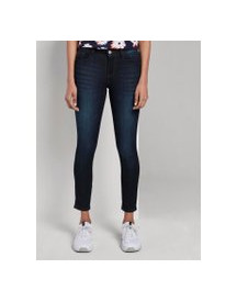 Tom Tailor Mine To Five Carrie Skinny Jeans, Rinsed Blue Denim, 26 afbeelding