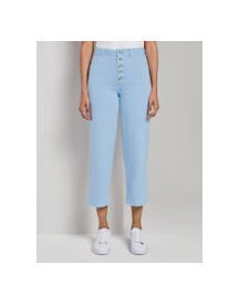 Tom Tailor Mine To Five Kate Rechte Culotte, Soft Charming Blue, 26 afbeelding