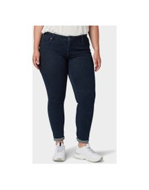 Tom Tailor My True Me Carrie Skinny Jeans, Dames, Dark Dye Blue Denim, 54 afbeelding
