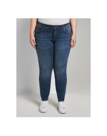 Tom Tailor My True Me Carrie Slim Jeans, Dames, Used Mid Stone Blue Denim, 48 afbeelding