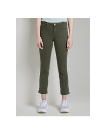 Tom Tailor Alexa Slim 7/8 Lengte, Dames, Woodland Green, 34 afbeelding