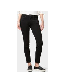 Tom Tailor Alexa Slim Jeans, Dames, Black Denim, 27/32 afbeelding