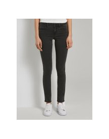 Tom Tailor Alexa Slim Jeans , Dames, Black Denim, 31/30 afbeelding
