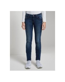 Tom Tailor Alexa Slim Jeans , Dames, Dark Stone Wash Denim, 26/32 afbeelding