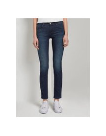 Tom Tailor Alexa Slim Jeans, Dames, Dark Stone Wash Denim, 28/32 afbeelding