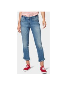 Tom Tailor Alexa Slim Jeans, Dames, Light Stone Blue Denim, 34 afbeelding