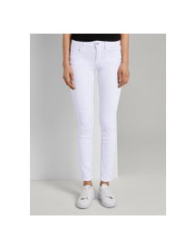 Tom Tailor Alexa Slim Jeans , Dames, White Denim, 27/32 afbeelding