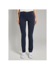 Tom Tailor Alexa Slim Jeans In Colour Wash, Dames, Real Navy Blue, 38/32 afbeelding