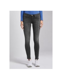 Tom Tailor Carrie Skinny Jeans, Dames, Grey Denim, 27/30 afbeelding