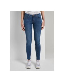Tom Tailor Carrie Skinny Jeans, Dames, Light Stone Wash Denim, 33/32 afbeelding