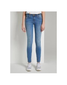 Tom Tailor Carrie Skinny Jeans, Dames, Mid Stone Wash Denim, 26/32 afbeelding