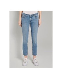 Tom Tailor Carrie Slim Jeans, Dames, Clean Light Stone Blue Denim, 30 afbeelding
