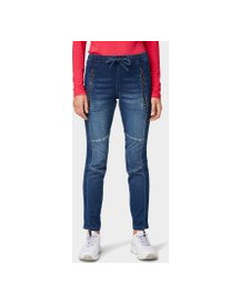 Tom Tailor Denim Jogging Broeken, Dames, Dark Stone Wash Denim, 30/30 afbeelding