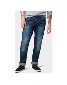 Tom Tailor Jeans Josh Regular Slim, Heren, Dark Stone Wash Denim, 33/32 afbeelding