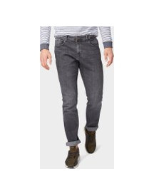 Tom Tailor Jeans Josh Regular Slim, Heren, Grey Denim, 33/32 afbeelding
