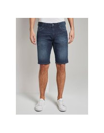 Tom Tailor Josh Bermuda Jeans, Light Stone Wash Denim, 33 afbeelding