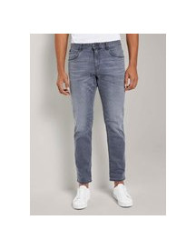 Tom Tailor Josh Regular Slim Jeans, Grey Denim, 38/32 afbeelding