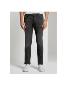 Tom Tailor Josh Regular Slim Jeans, Heren, Black Stone Wash Denim, 33/32 afbeelding