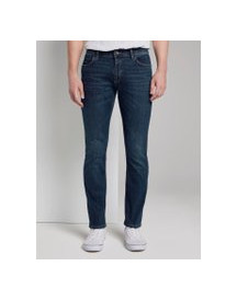 Tom Tailor Josh Regular Slim Jeans, Heren, Dark Blue Denim, 33/34 afbeelding