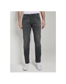 Tom Tailor Josh Regular Slim Jeans, Heren, Grey Denim, 31/34 afbeelding
