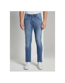 Tom Tailor Josh Regular Slim Jeans, Heren, Light Stone Wash Denim, 34/34 afbeelding