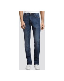Tom Tailor Josh Regular Slim Jeans, Heren, Mid Stone Wash Denim, 30/32 afbeelding