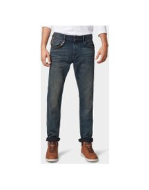 Tom Tailor Josh Regular Slim Jeans, Heren, Tinted Blue Denim, 34/34 afbeelding