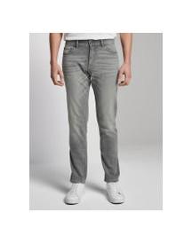 Tom Tailor Josh Regular Slim Jeans, Heren, Used Light Stone Grey Denim, 38/30 afbeelding
