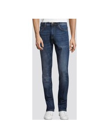 Tom Tailor Josh Regular Slim Jeans, Mid Stone Wash Denim, 31/30 afbeelding