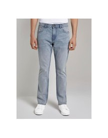 Tom Tailor Josh Regular Slim Jeans, Used Light Stone Blue Denim, 31/32 afbeelding