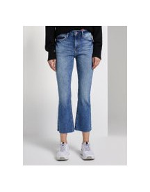 Tom Tailor Kate Narrow Bootcut Jeans, Dames, Vintage Stone Wash Denim, 27 afbeelding