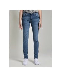 Tom Tailor Kate Skinny Jeans, Dames, Light Stone Wash Denim, 33/30 afbeelding