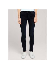 Tom Tailor Kate Skinny Jeans, Dark Stone Blue Black Denim, 34/32 afbeelding