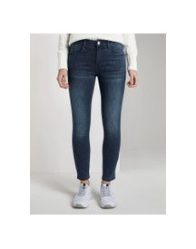 Tom Tailor Kate Skinny Jeans In Enkellengte, Dames, Dark Stone Wash Denim, 34 afbeelding