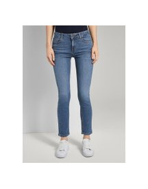 Tom Tailor Kate Slim Jeans, Dames, Dark Blue Denim, 33/32 afbeelding