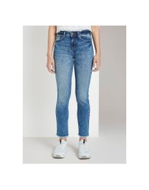 Tom Tailor Kate Slim Jeans Op Enkellengte, Dames, Vintage Stone Wash Denim, 32 afbeelding