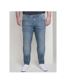 Tom Tailor Slim Jeans, Heren, Mid Stone Wash Denim, 42/32 afbeelding