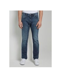 Tom Tailor Trad Relaxed Slim Jeans, Heren, Used Mid Stone Blue Denim, 32/32 afbeelding