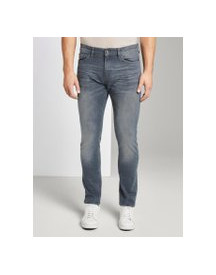 Tom Tailor Troy Slim Jeans, Heren, Blue Grey Denim, 30/34 afbeelding
